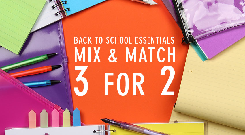 3 FOR 2 BACK TO SCHOOL PAPERCHASE HEADER BLOG