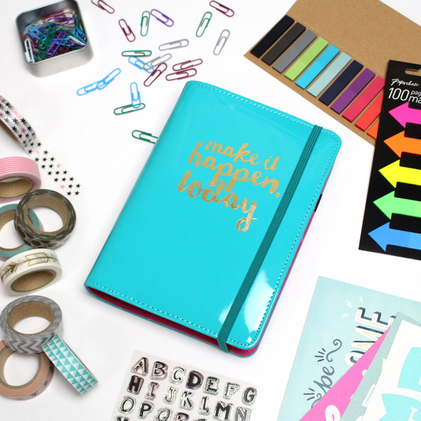 How to personalise your planner 1planner