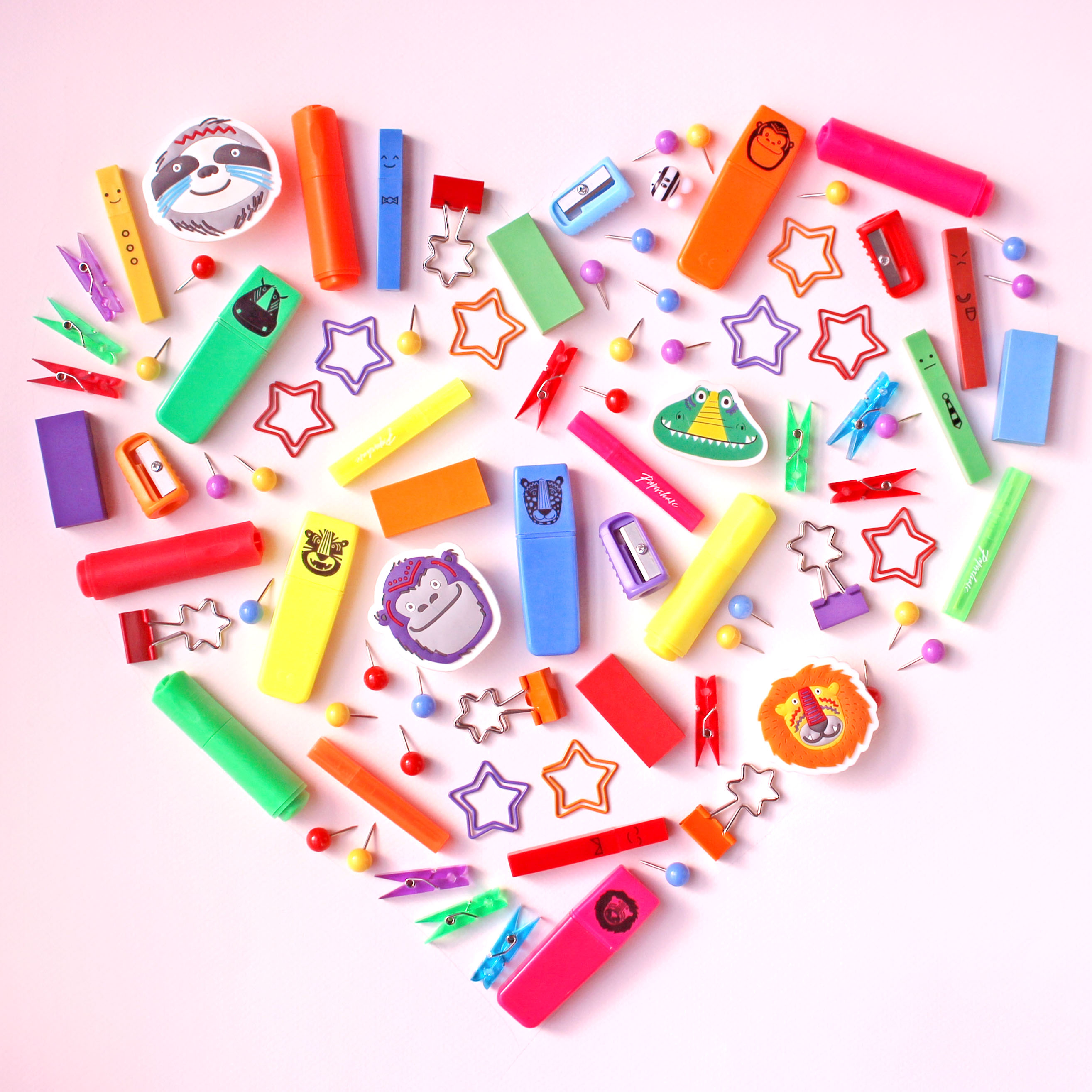 Stationery Heart Lighter