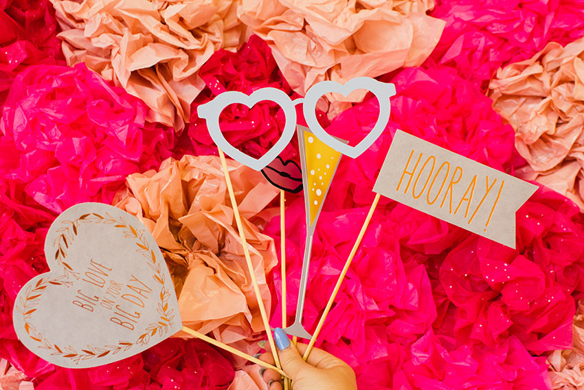 High-Res-Tissue-Paper-Heart-Backdrop-with-Paperchase-Wedding-Photo-Booth-Props-Bespoke-Bride-13