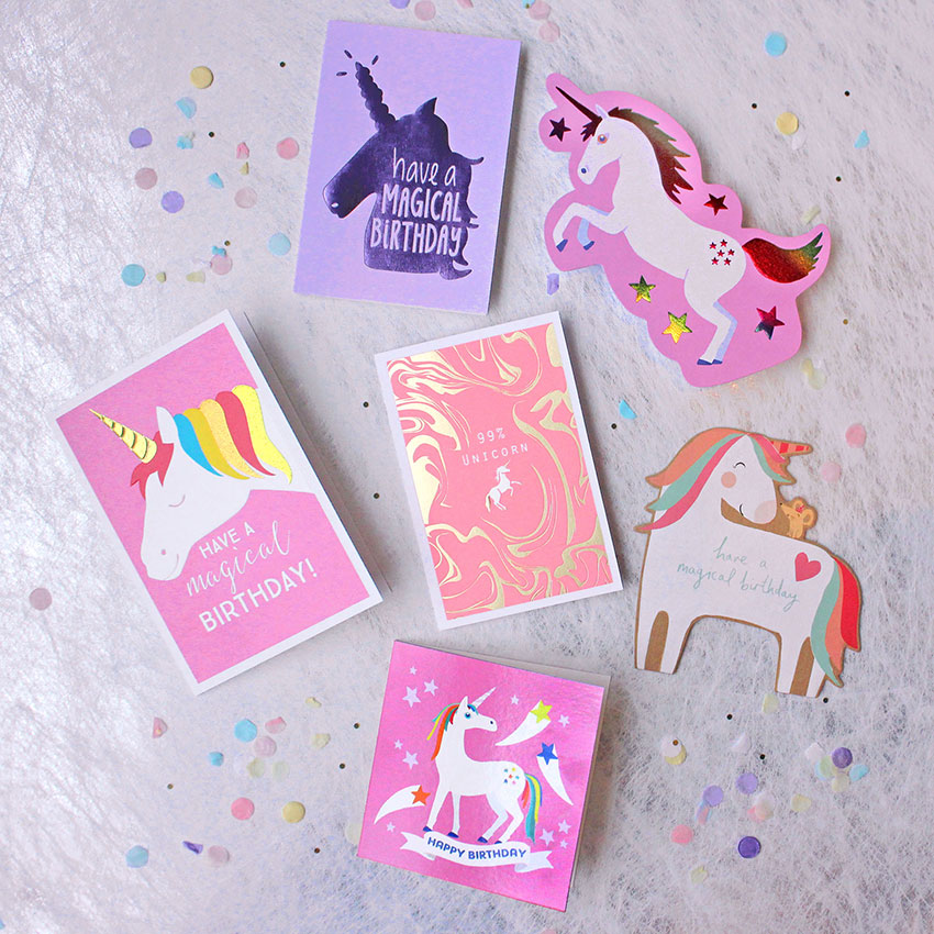 PAPERCHASE-UNICORN-CARDS