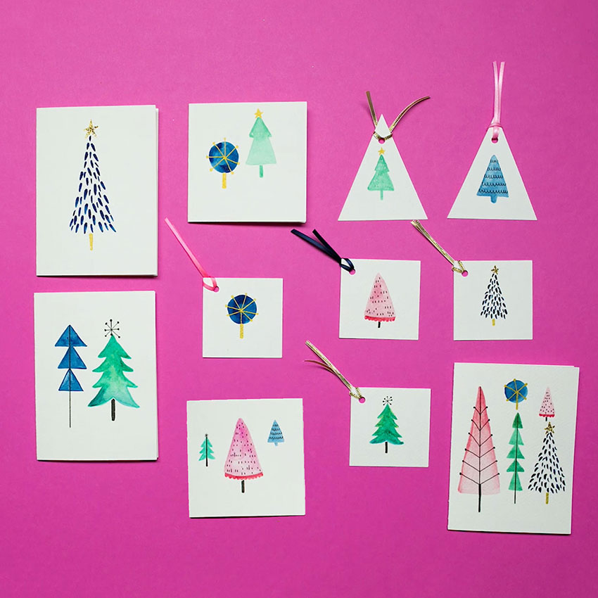 PAPERCHASE-HOW-TO-DRAW-A-CHRISTMAS-TREE-CARDS-AND-TAGS