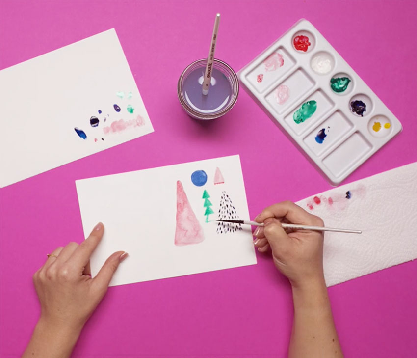 PAPERCHASE-HOW-TO-DRAW-A-CHRISTMAS-TREE-STEP-EIGHT