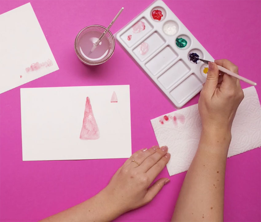 PAPERCHASE-HOW-TO-DRAW-A-CHRISTMAS-TREE-STEP-FIVE
