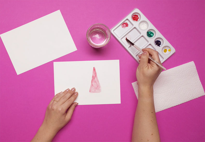 PAPERCHASE-HOW-TO-DRAW-A-CHRISTMAS-TREE-STEP-FOUR