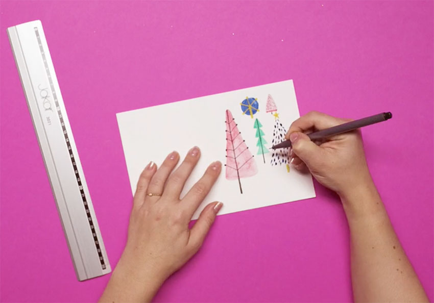 PAPERCHASE-HOW-TO-DRAW-A-CHRISTMAS-TREE-STEP-NINE