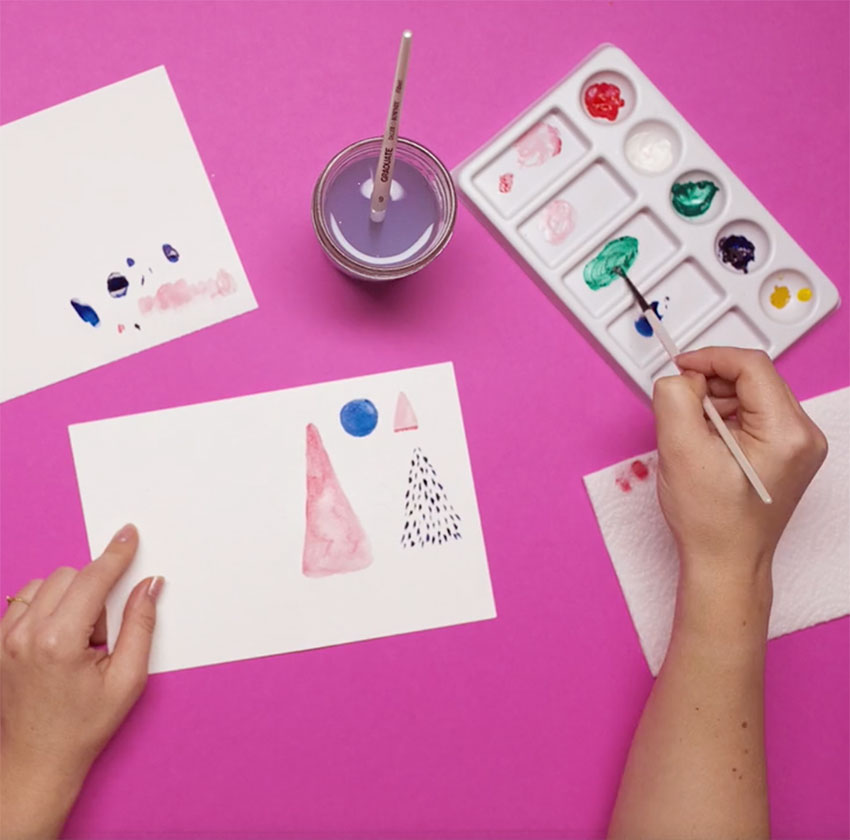 PAPERCHASE-HOW-TO-DRAW-A-CHRISTMAS-TREE-STEP-SEVEN