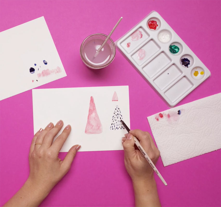 PAPERCHASE-HOW-TO-DRAW-A-CHRISTMAS-TREE-STEP-SIX