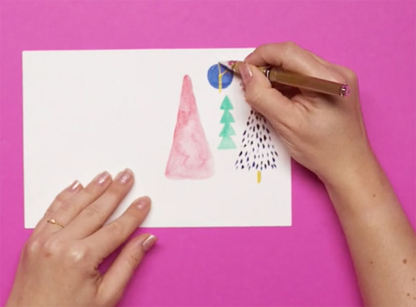 PAPERCHASE-HOW-TO-DRAW-A-CHRISTMAS-TREE-STEP-TEN