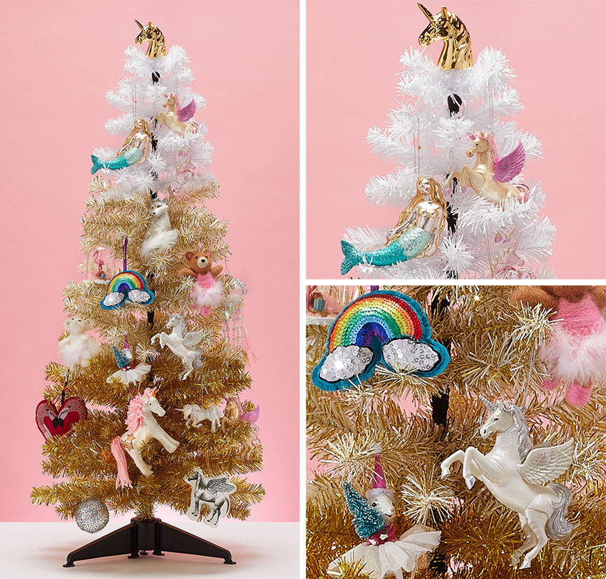 Paperchase Unicorn Chrismtas Tree 4