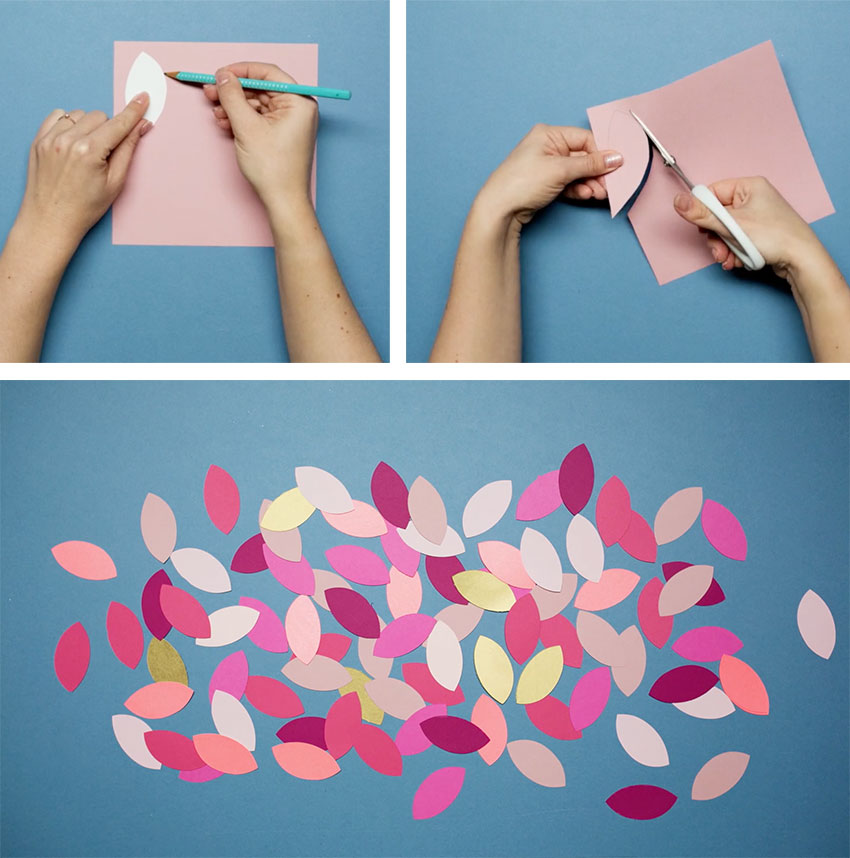 Paperchase-how-to-make-a-christmas-wreath-step-three