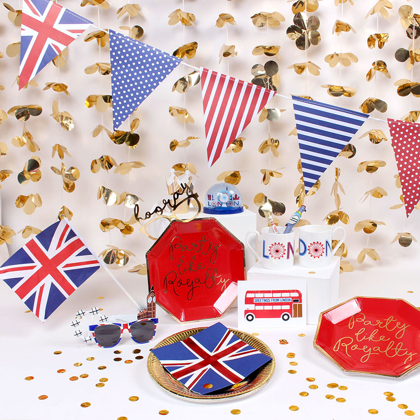 Paperchase Great British Street Party Royal Wedding Gifts