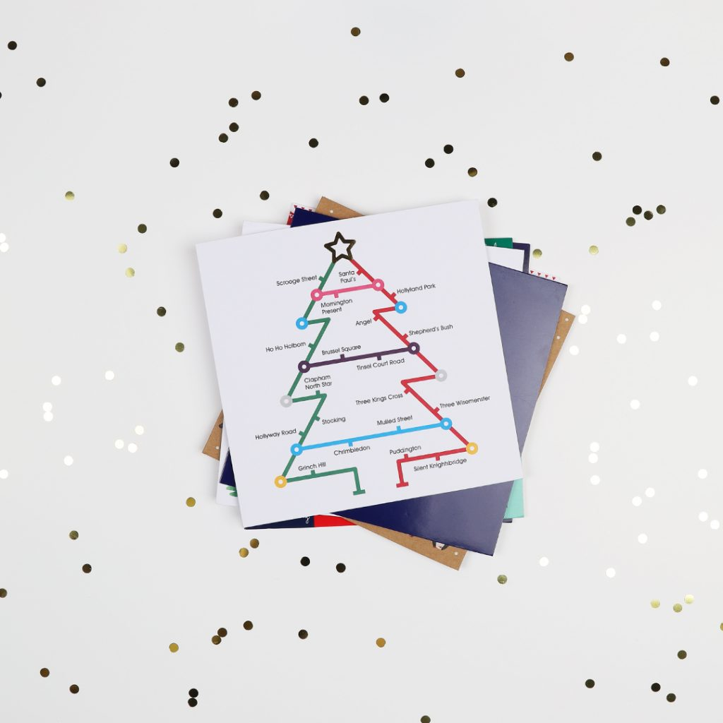 Paperchase X Centre Point Charity Christmas Card