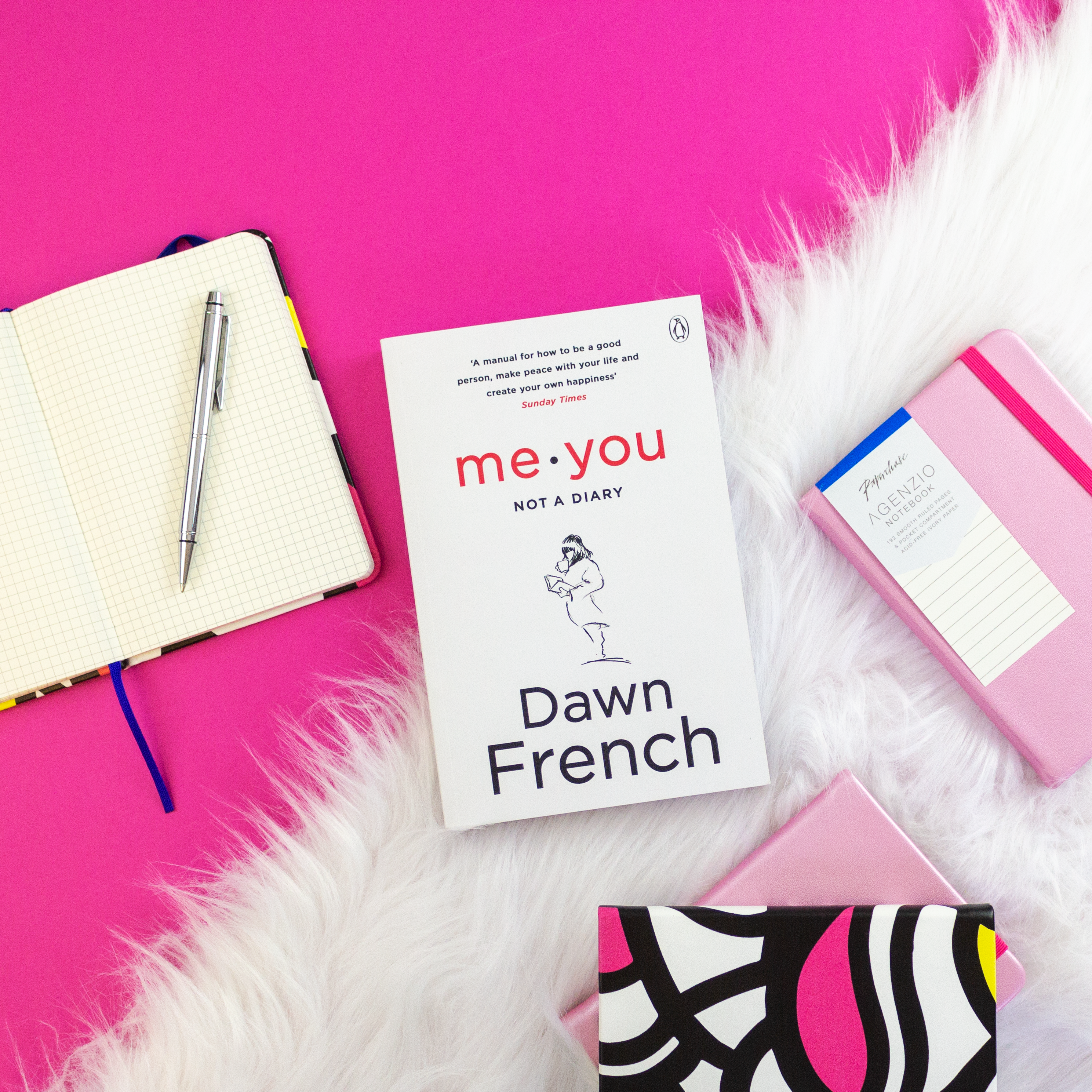 journal with dawn french