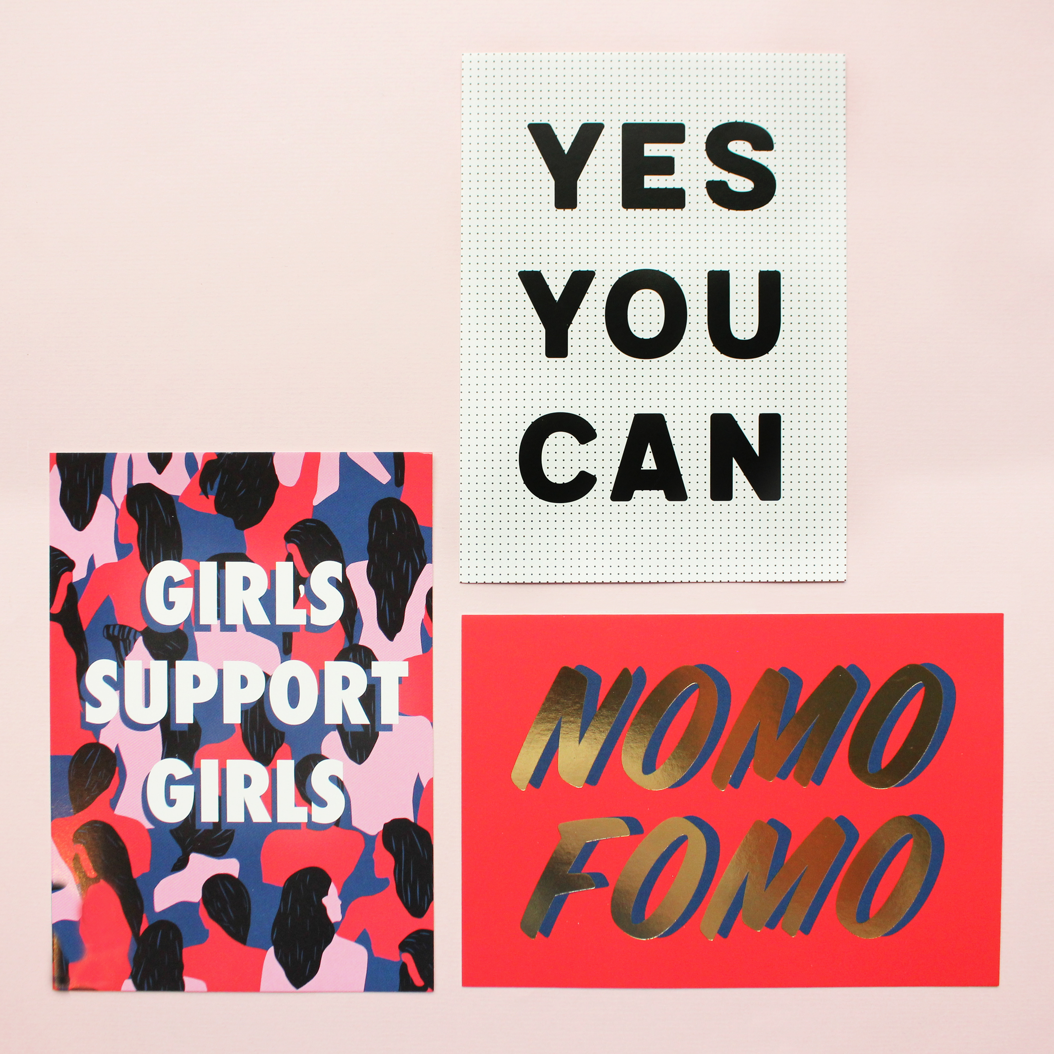 Positive quote postcards for your desk