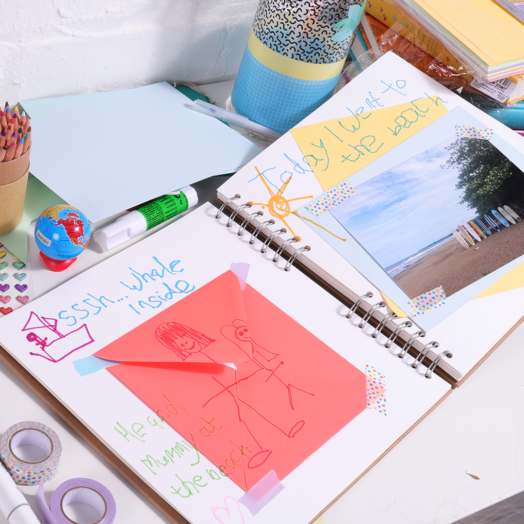 Scrapbooking your day with photos