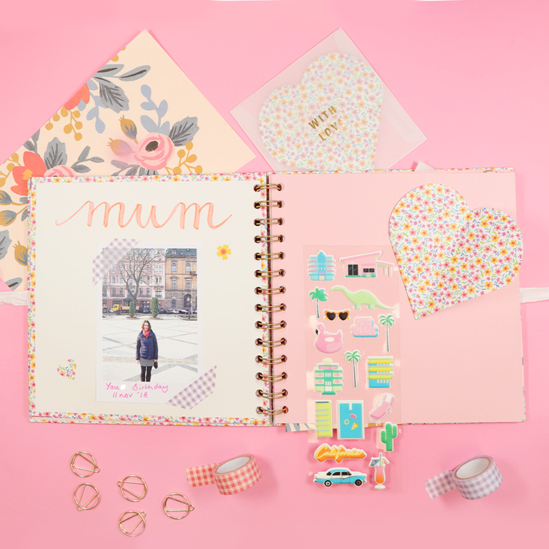 Scrapbooking For Mother S Day