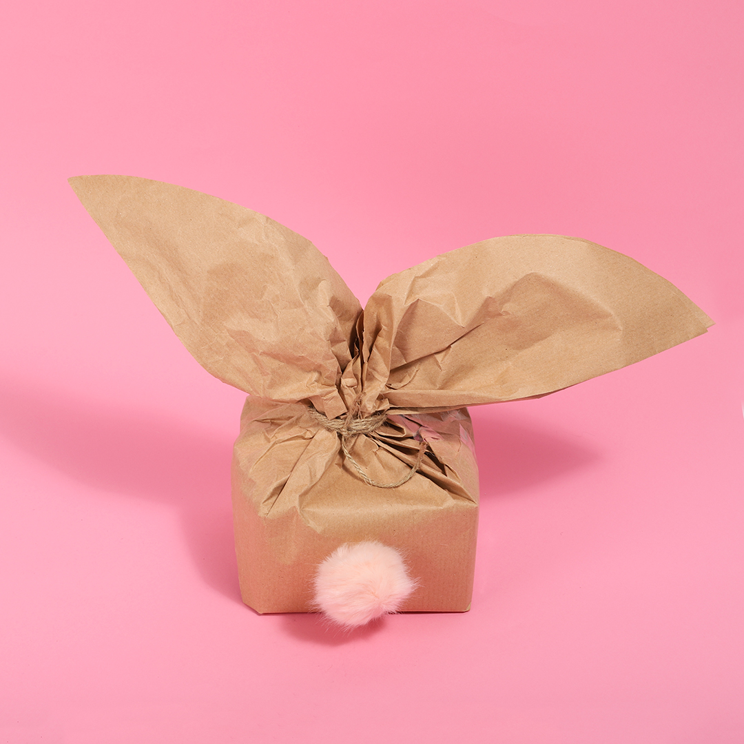 HOW TO WRAP YOUR GIFT BOX LIKE AN EASTER BUNNY | Paperchase