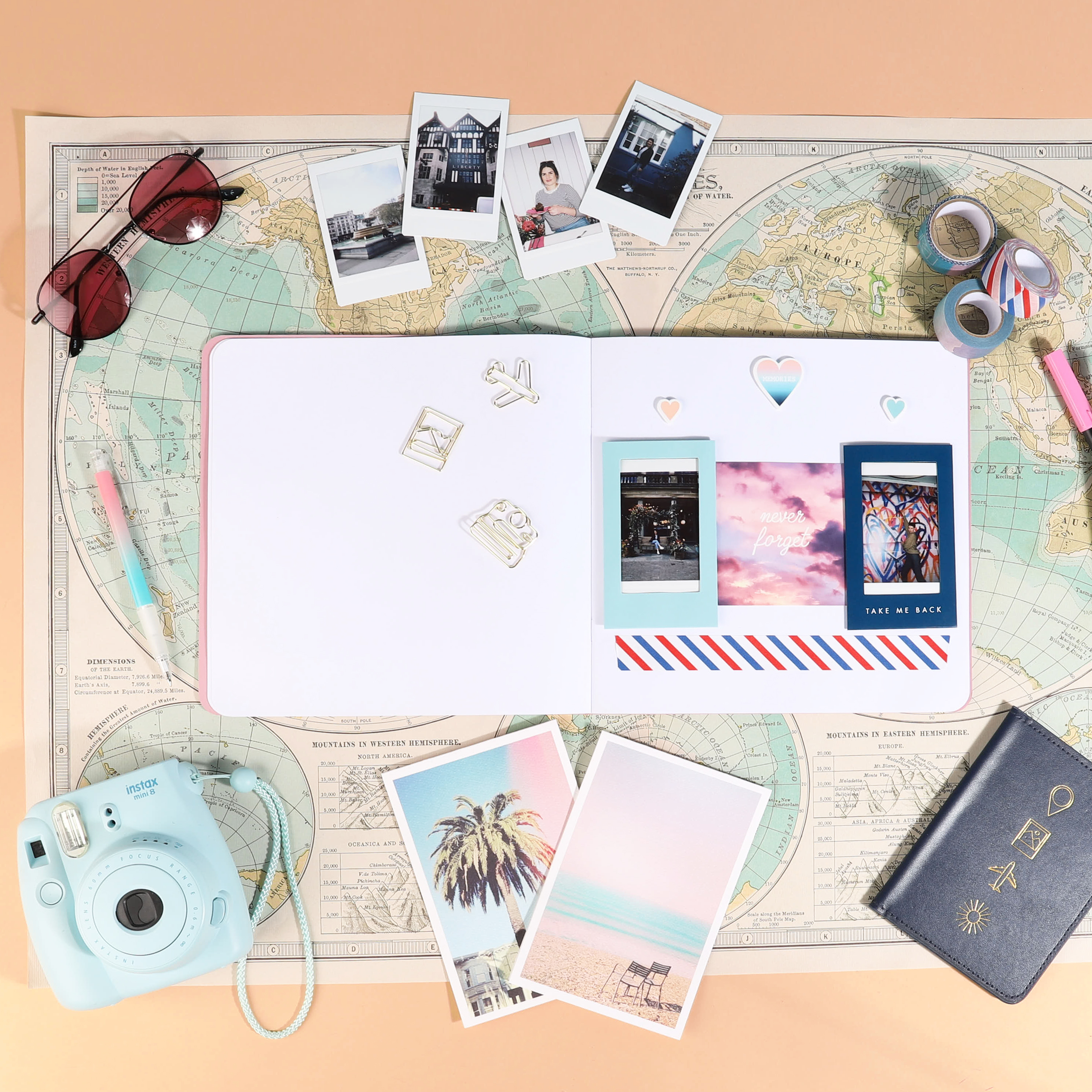 Top Tips For Travel Scrapbooking