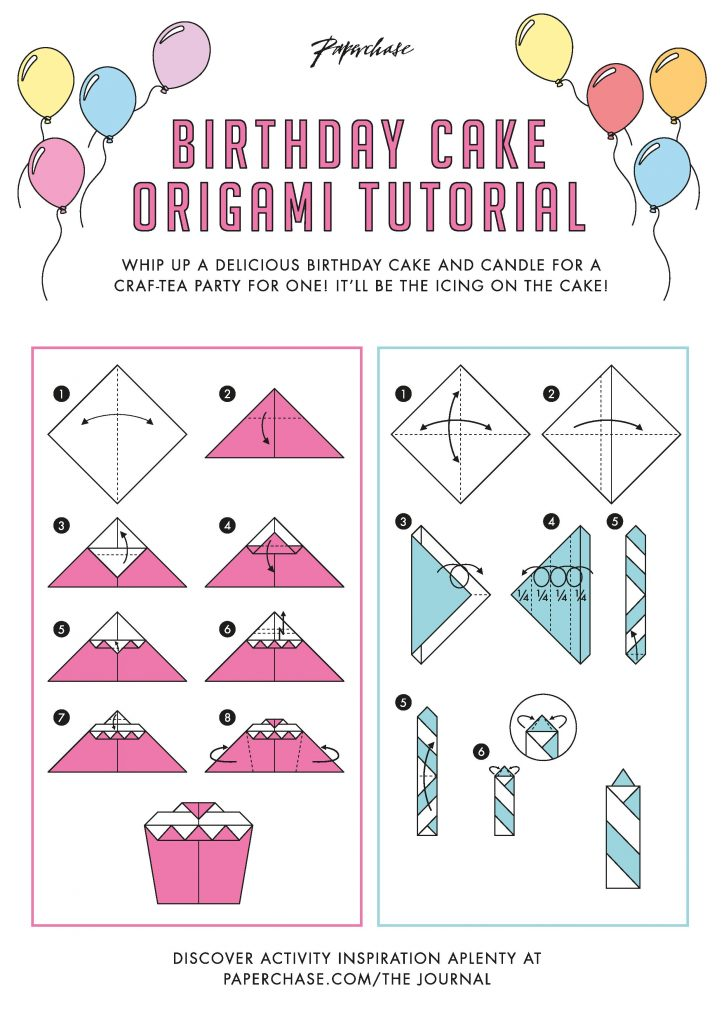 Amazon.com : Pop Up Origami Birthday Card : Office Products | 1024x724